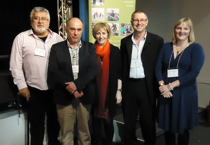 Dr Stephen Rollncik with t e Christchurch based HMA team who hosted this visit