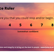 Confidence Ruler